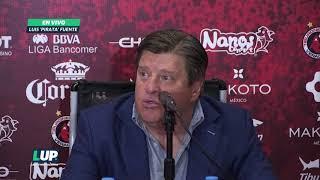 """""""El equipo reacciona bien, no se cae"""": Miguel Herrera"""