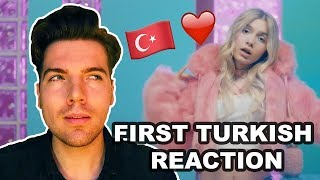 FIRST TURKISH REACTION: ALEYNA TILKI - SEN OLSAN BARI Video