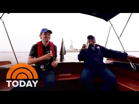 Watch Matthew Rhys Set Sail With Al Roker