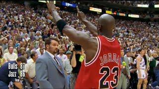 1998 NBA Finals - Chicago Bulls Vs Utah Jazz - Game 6 HD