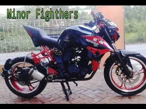 modifikasi byson minor fighter  paling bagus