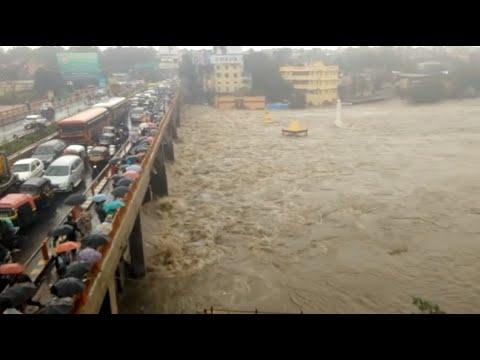 Nashik : Godavari river overflows