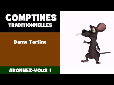 Comptines Dame Tartine Youtube