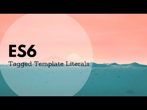 Tagged Template Literals: Exploring Styled-components Use Of This Syntax