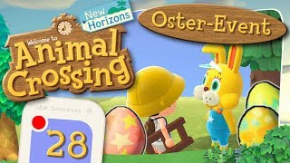 OSTER-EVENT 01.04-12.04: Ohs der Hase & die Eiersuche 🏝️ ANIMAL CROSSING: NEW HORIZONS #28