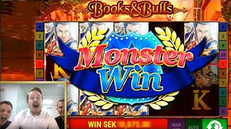 Bally Books and Bulls - Monster win!