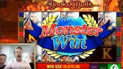 Bally Books and Bulls - Monster win!
