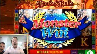 Bally Books and Bulls Monster win