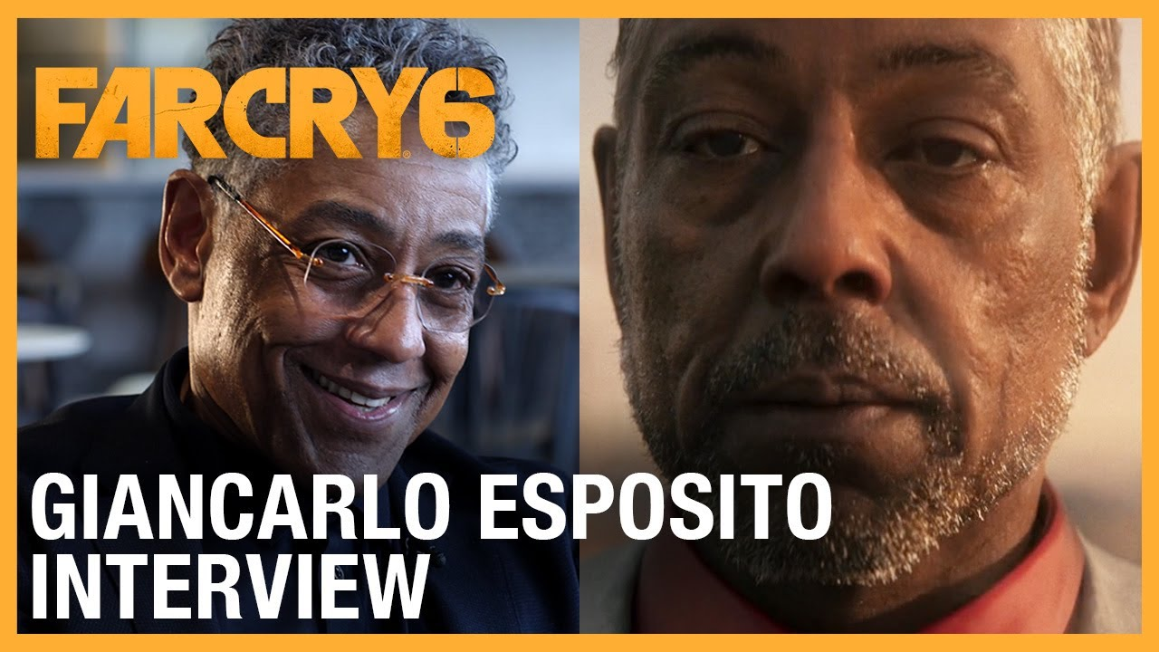 Far Cry 6: Meet Antón Castillo | Giancarlo Esposito Interview | UbiFWD July 2020 | Ubisoft NA