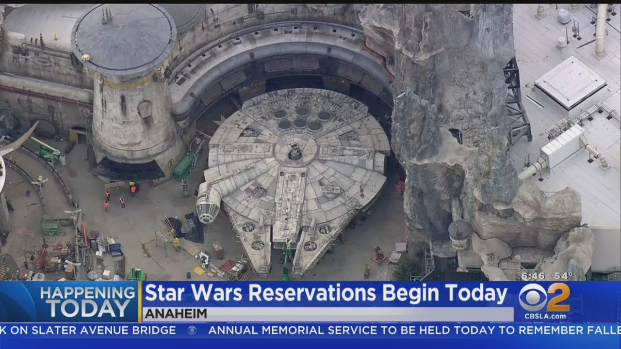 All of Disneyland's Star Wars: Galaxy's Edge Reservations Sold Out in Two Hours