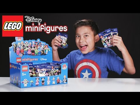 LEGO DISNEY MINIFIGURES!!! PART 3 - More Blind Bag UNBOXING!