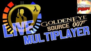 Live Goldeneye the Source Multiplayer Chaos - GameSocietyPimps