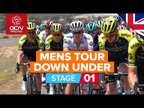 Santos Tour Down Under 2020 Stage 1 HIGHLIGHTS   Ziptrack Stage 1: Tanunda