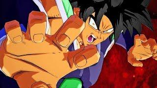 Dragon Ball FighterZ - NEW DBS BROLY DLC Fury / Full Power Forms Gameplay Screenshots