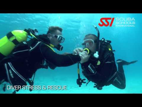 SSI Diver Stress&Rescue Specialty Trailer
