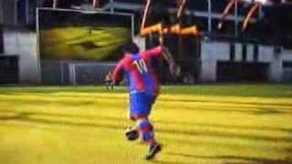 FIFA 08 XBOX 360 DEMO JOGA BONITO RONALDINHO