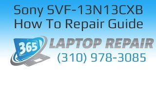 Sony Vaio Flip Touch Bezel Removal and Replacement - By 365