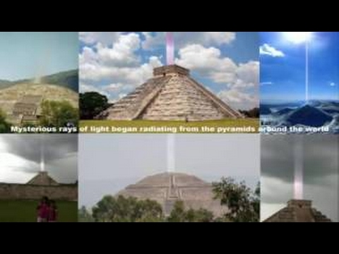 NASA Secrets Revealed Pyramids Globally Beaming Energy To Mysterious Space Cloud UFO