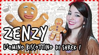 Zenzy  l'omino biscottino - Shrek - NERD KITCHEN