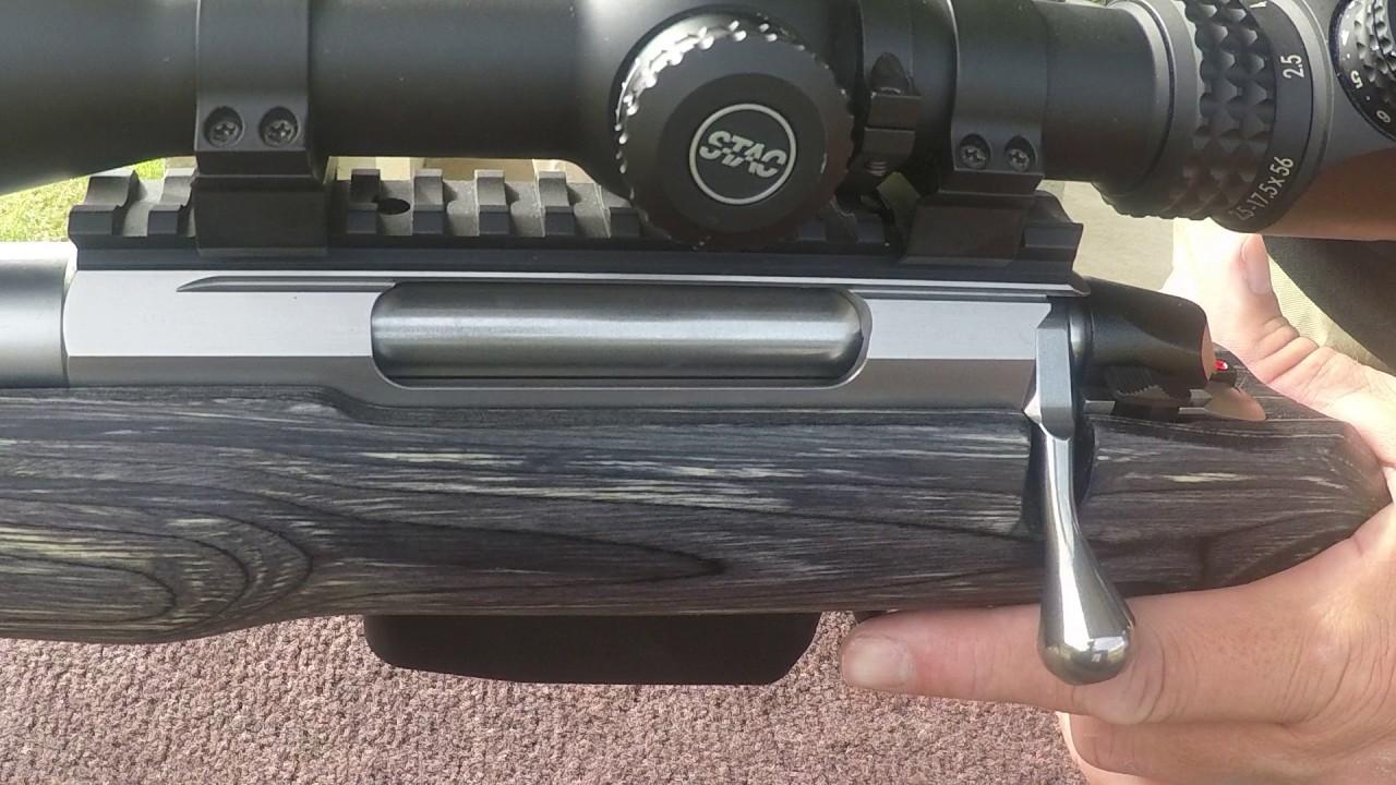 Tikka T3X 223 Rem Bolt Action