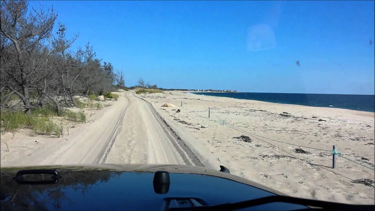 Jeep Drive Weekapaug Fire District Beach To Quonnie Breachway