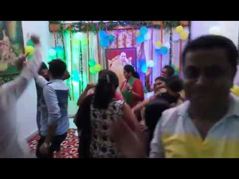 W1E2- Parul Aneja - Guru ji Satsang Celebration: Birthday in Rohtak dance Video