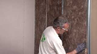 Звукоизоляция межкомнатных перегородок с помощью Knauf Insulation(Видео инструкция по применению Knauf Insulation для звукоизоляции межкомнатных перегородок от производителя., 2014-11-05T09:43:35.000Z)