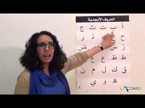 El abecedario en lengua Árabe - Curso Árabe