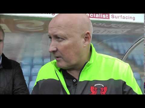 Russell Slade post Scunthorpe Utd interview (FULL VIDEO ON ORIENT PLAYER)