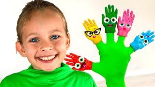 Семья пальчиков - Детская песня | Песни для детей от Майи и Маши