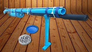 Awesome!! Smart Man Make PVC Gun In 500 Seconds (Working 100%)
