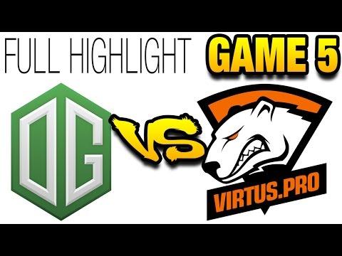 $3.000.000 Kiev Major Grand Finals - Full Hightlight OG vs VP - [Game 5]
