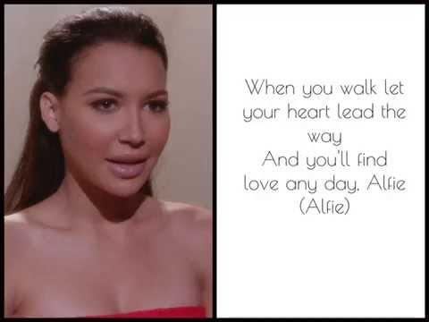 Alfie glee lyrics