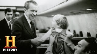 The Secret History of Air Force One: Richard Nixon Flies Commercial | History