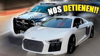 LE PRESTO MI AUDI R8 A MIS AMIGOS Y NOS DETIENE LA POLICIA    ALFREDO VALENZUELA