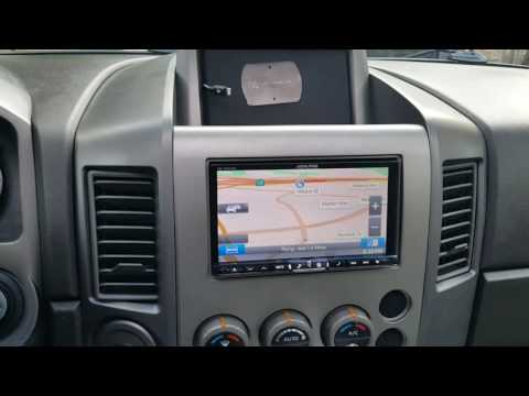 2006 Nissan Titan Stereo Upgrade And Retaining The Factory Rear Seat DVD. Al & Eds Autosound La Mesa