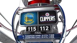 golden state warriors vs los angeles clippers february 20 2016