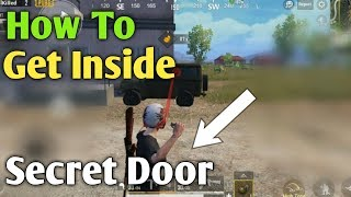 How To Get Inside The Damaged Jeep In PUBG Mobile || New Trick 🔥🔥