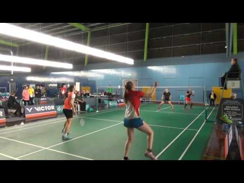 Badminton Victor Open Australia 2015 WD