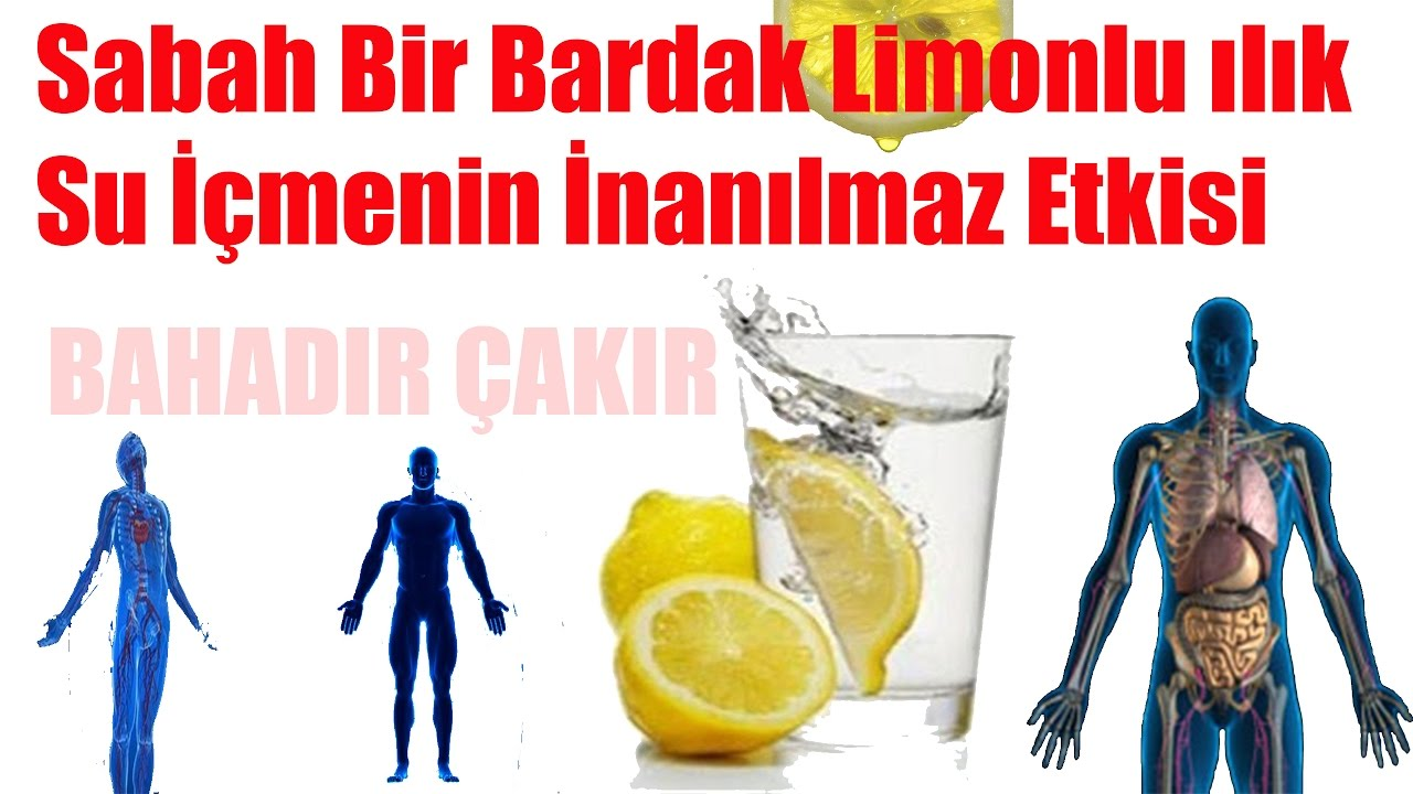 Limonlu Suyun İnanılmaz Faydaları