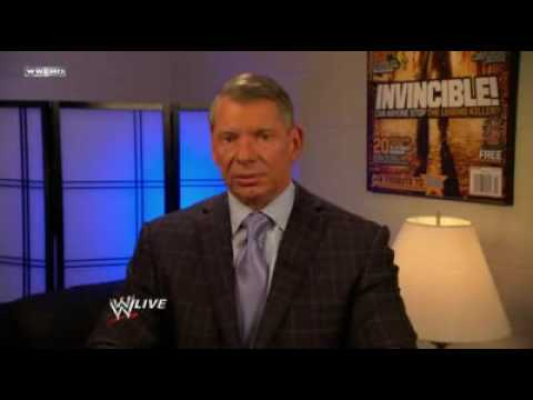 MR. MCMAHON SELLS RAW TO DONALD TRUMP! - [HQ]