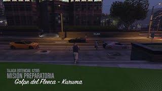 GOLPE DE FLEECA KUMURA CON lele ghost MISION LESTER Grand Theft Auto V