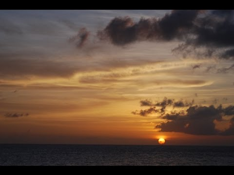 Time Lapse Sunset Cayman Islands