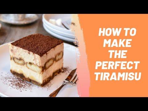 How to Make the Perfect Tiramisu