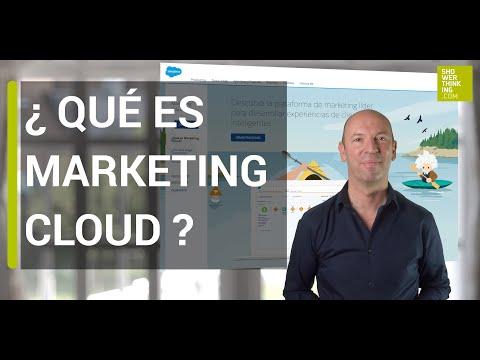 Que es Salesforce Marketing Cloud