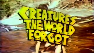 Creatures the World Forgot 1971 TV trailer
