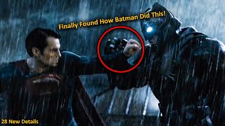 I Watched Batman v Superman in 0.25x Speed and Here's What I Found