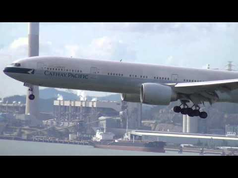 Hong Kong Airport Epic Spotting: A380s, 747s, A340s, 777s, A330s, 767, DC-10!