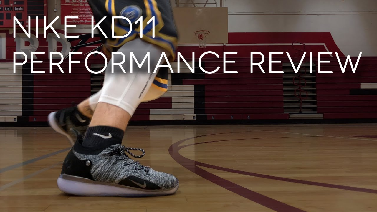 180ca09bef21 NIKE KD 11 PERFORMANCE REVIEW - YouTube