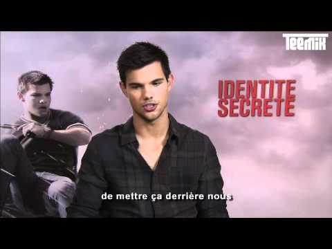 Taylor Lautner reveals his type of girl !